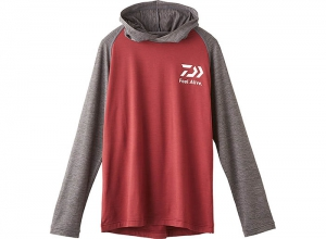 DAIWA DE-93009 Hoody Shirt Gray XL