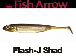 Flash J Shad 2inch #1 GREENPUMPKIN/SILVER