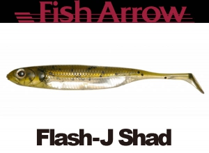 Flash J Shad 3inch #2 WATERMELON/SILVER