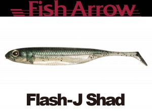 Flash J Shad 3inch #3 NEON GREEN/SILVER