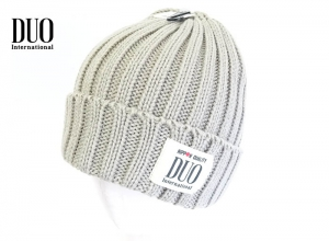 Xmas Sale DUO Knit Cap Beige