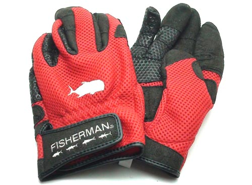 FISHERMAN 3D Power Glove Super Cool / Red-3L