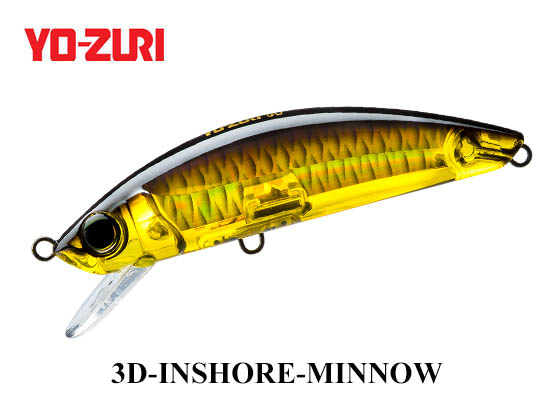 3D INSHORE MINNOW 110mm HGBL