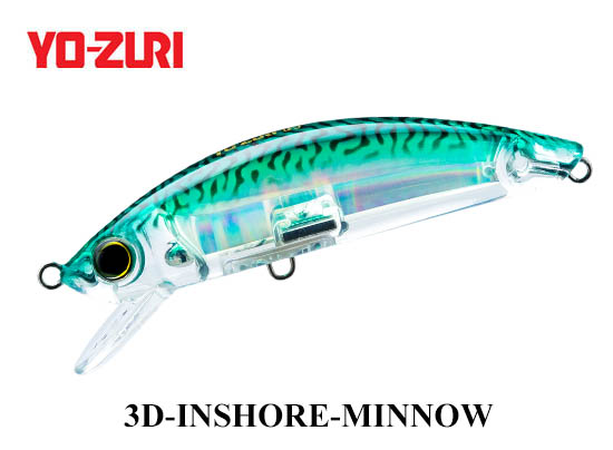 3D INSHORE MINNOW 110mm HGM