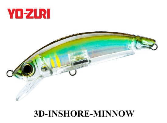 3D INSHORE MINNOW 110mm HHAY