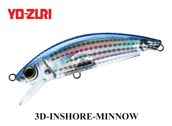 3D INSHORE MINNOW 110mm HMT