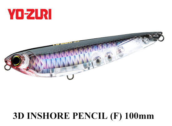 3D INSHORE PENCIL 100mm C4