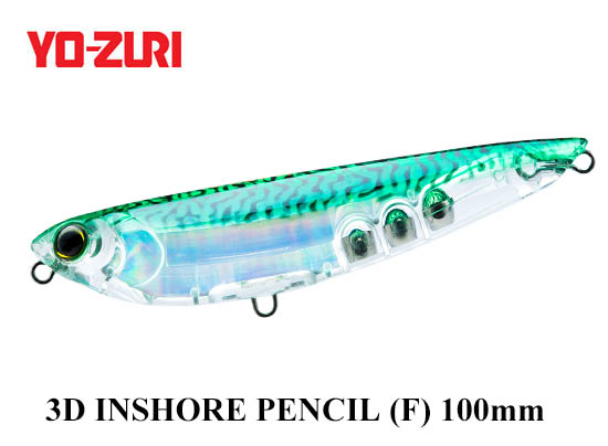 3D INSHORE PENCIL 100mm HGM
