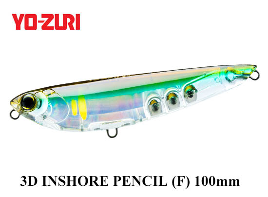 3D INSHORE PENCIL 100mm HHAY