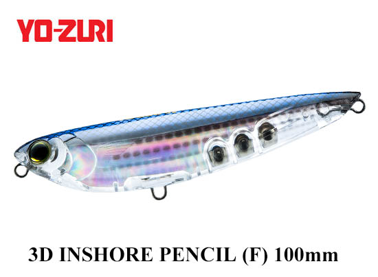 3D INSHORE PENCIL 100mm HMT