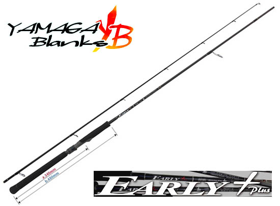 YAMAGA BLANKS EARLY Plus 81M Wind(Free Shipping)