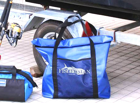 FISHERMAN WATERPROOF BAG DX Blue