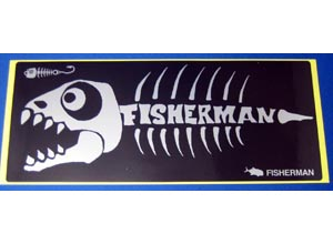 FISHERMAN Sticker-Dinosaur