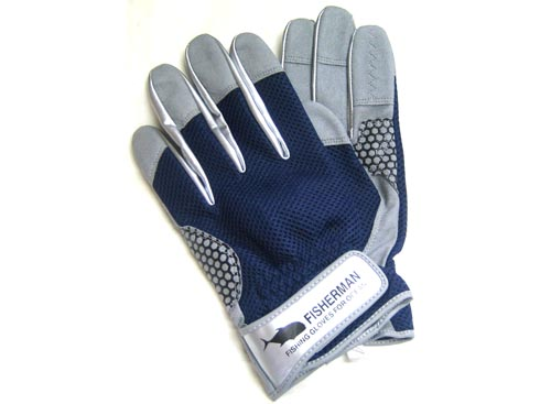 FISHERMAN High Grip Glove Color-Navy XLA