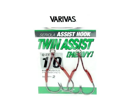 SERIOLA TWIN ASSIST HOOK HEAVY #1/0image