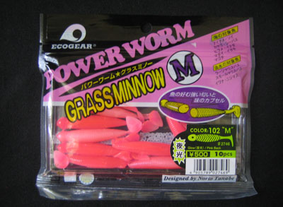 GRASS MINNOW M color 102
